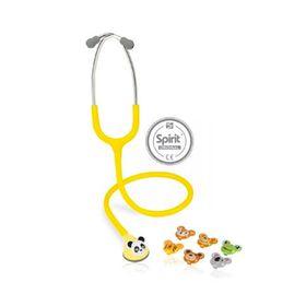 Estetoscopio-Master-Lite-Pediatrico-Amarelo-Spirit