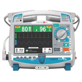 Cardioversor-Cardiomax-Basico--ECG---Desfibrilador.-