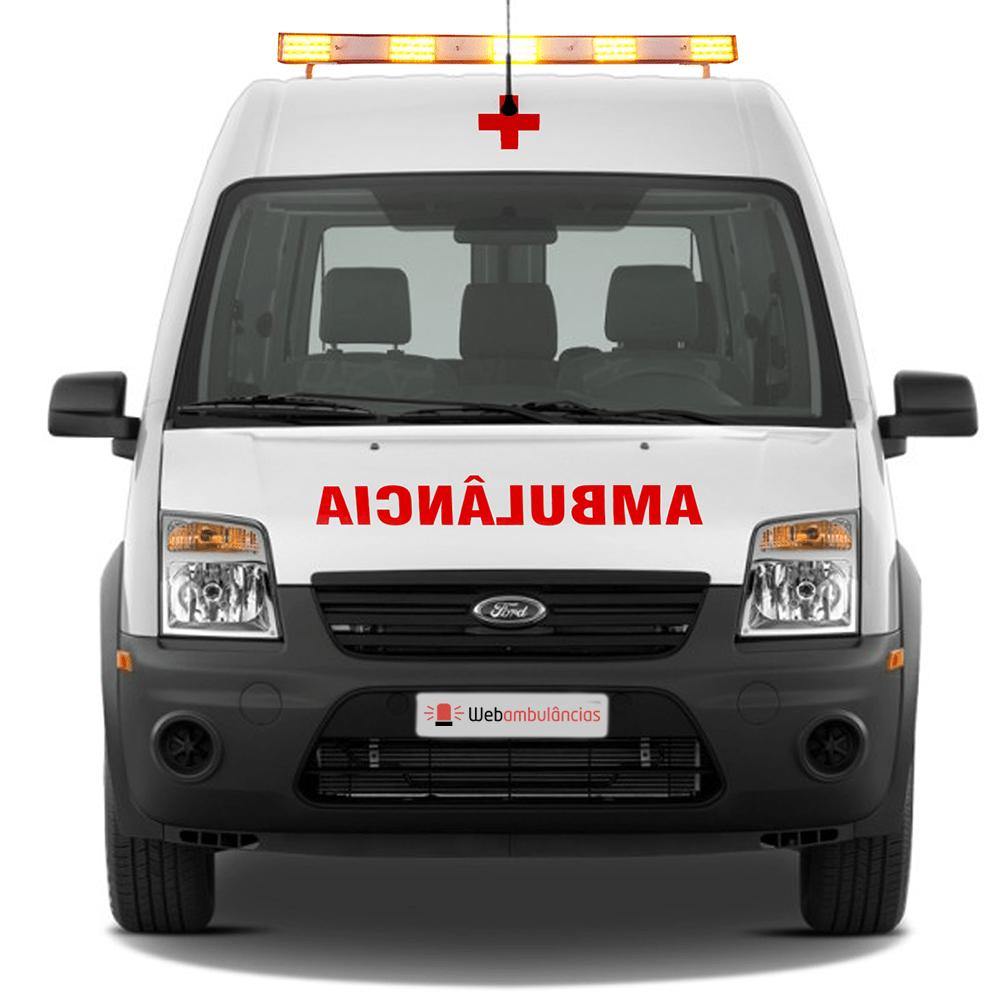 b9344813c Ambulância Ford Transit Suporte Avançado UTI