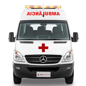 ac0ab237b Ambulância Mercedes Sprinter Suporte Avançado UTI